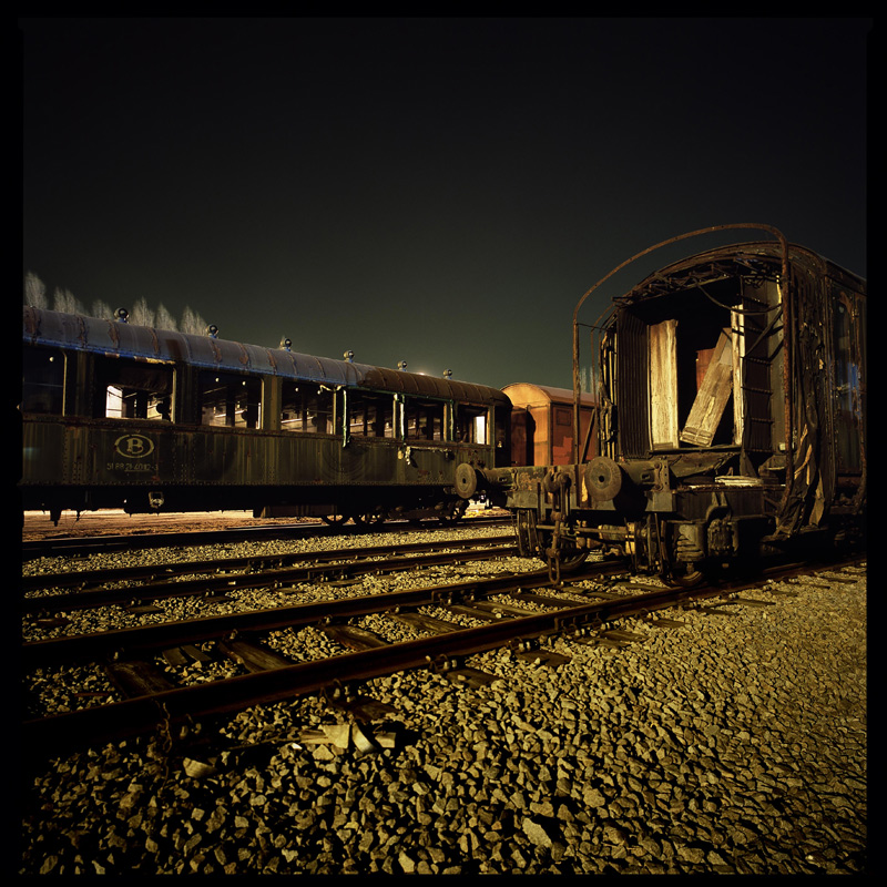 Night Photography - Railway by mara-mara