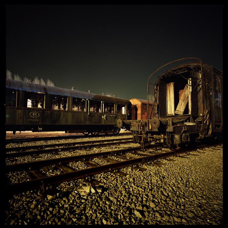 Night Photography - Railway by mara-mara
