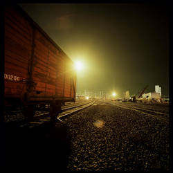 Night Photography - Railway 2