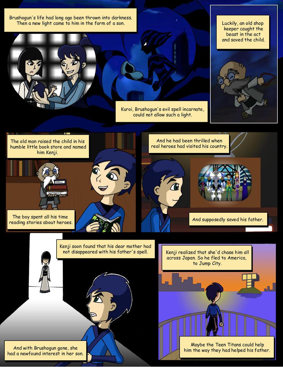 Kenji S Past Revealed By Superherogeek13 On Deviantart