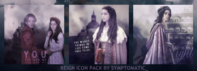 Reign Icon Pack by SamanthaInWynter