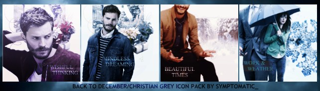 Fifty Shades of Grey Icon Pack by SamanthaInWynter
