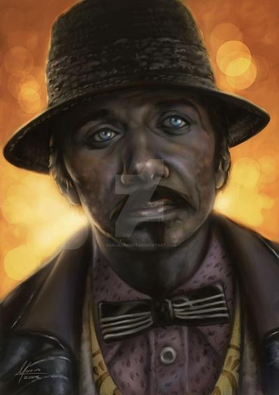 Gaff - Blade Runner Portrait by banjaxedmdt
