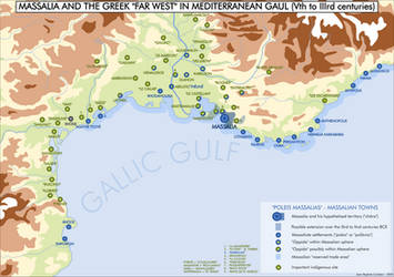The Greek 'Far-West' in Gaul  (500 BCE to 300 BCE) by LSCatilina