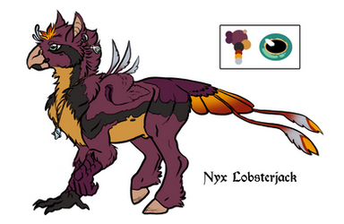 Nyx Lobsterjack - Hippogriff Form