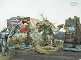 Fallout DeathClaw Miniature