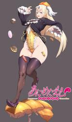 Nurikabe, Youkai Girl drawn by Amamiya! by RebisDungeon