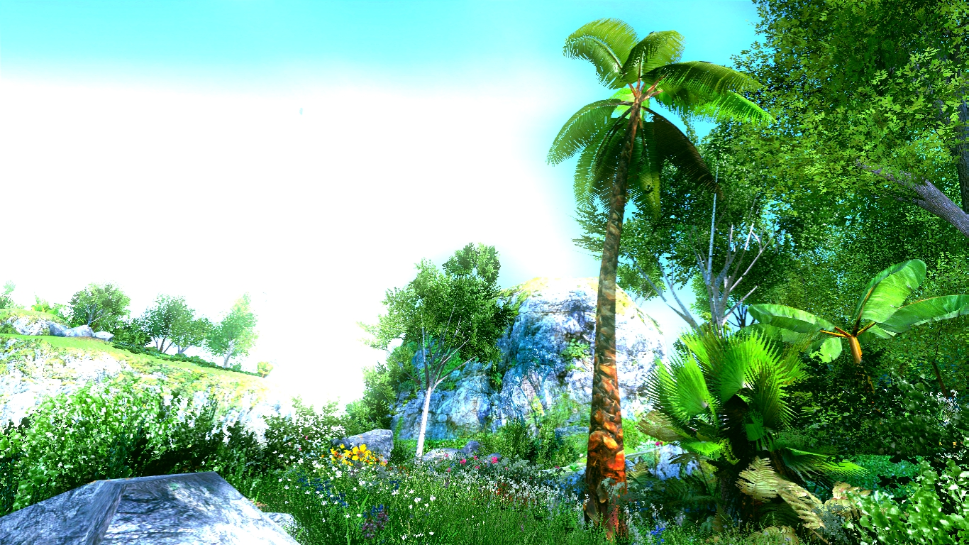 Day Time In Unknown Tropical Jungle Island By AlphaDestro
