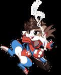Spider-Bean Chibi