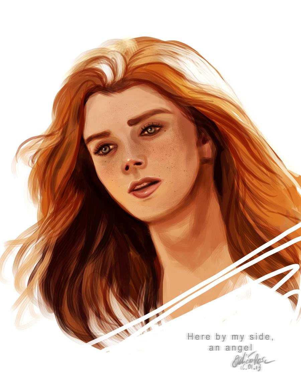 Angel by Fidi-s-Art
