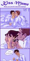 'Kiss Meme' Ben/Alan edition