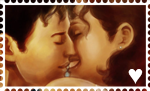 M/F stamp by FidisART