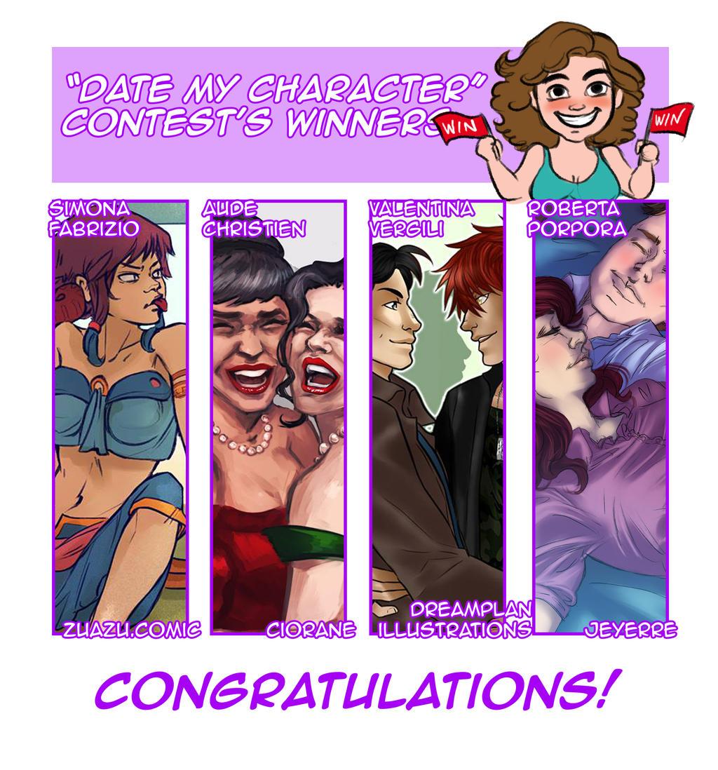 'Date my character' WINNERS! by Fi-Di
