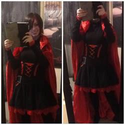 RWBY: Ruby Rose cosplay test by LoneSurvivor01