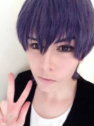 Love Stage~ Ryouma Ichijou Makeup test by LoneSurvivor01