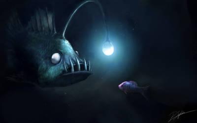 Dark depths of the Sea by psiipilehto