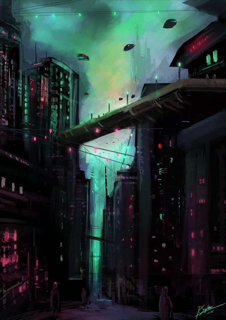 Dark City by psiipilehto