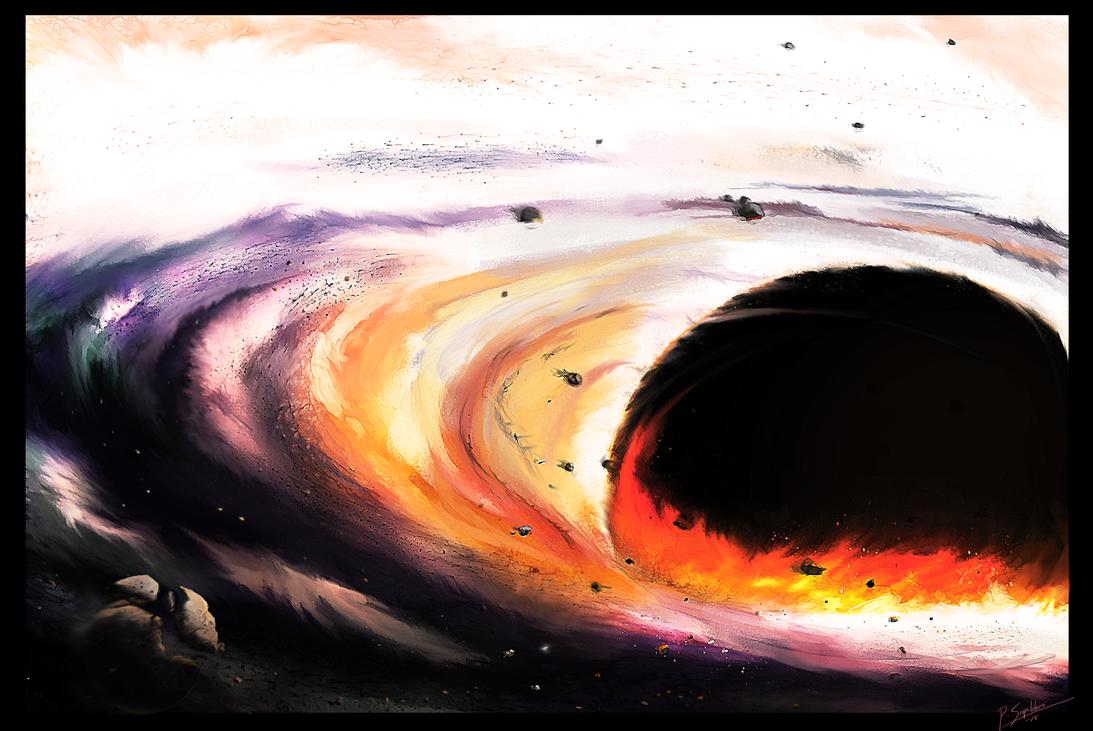 Supermassive black hole by psiipilehto