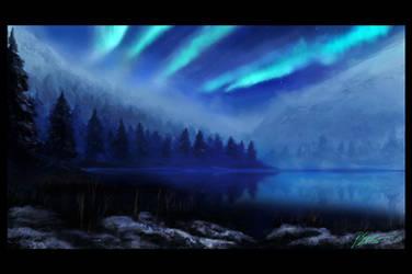 Aurora Night by psiipilehto