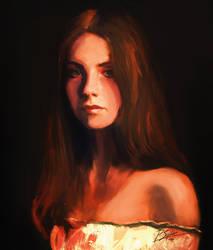 Anastasia portrait by psiipilehto
