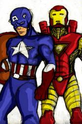 Avengers by BrerAnansi