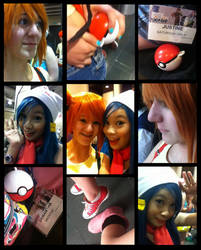 Misty and Dawn Cosplay 1 by JustineMB