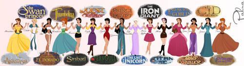 Non Disney Heroines