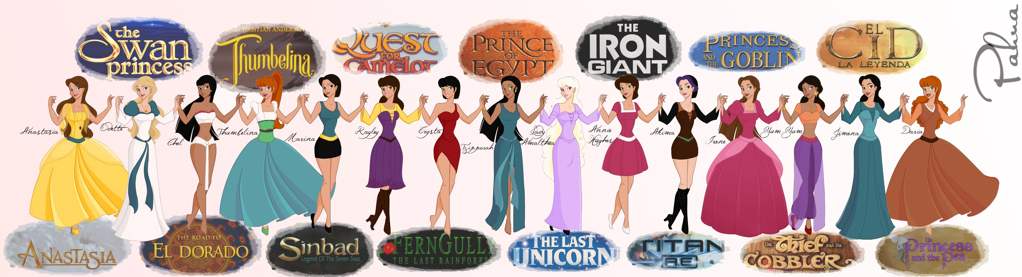 disney heroines Wow, this game is amazing but it is big so relax and take your time to enjoy it to the fullest :) you can create any disney heroine and any disney princess with this creator, the choices and possibilities are almost endless.