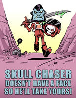 Skull Chaser Needs a Face by SquidMantis