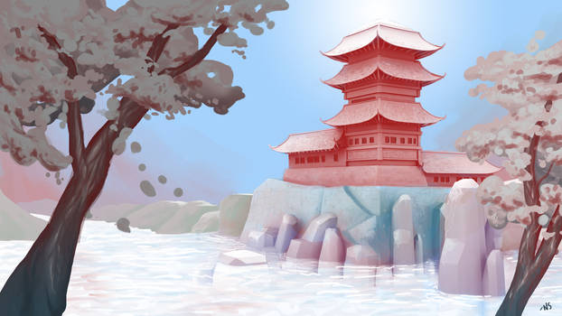 Background Digital Painting