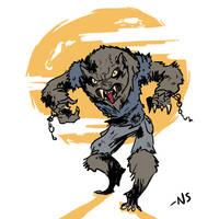 Werewolf by SquidMantis