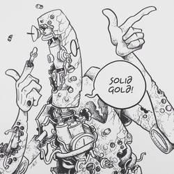 Inktober #9: BROKEN by SquidMantis