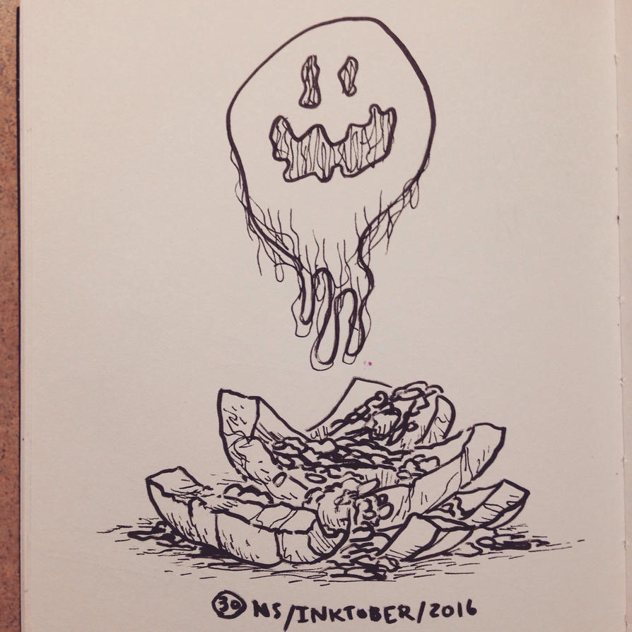 Inktober 2016 #30: WREAK by SquidMantis