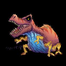 Tyrannocentipede by SquidMantis