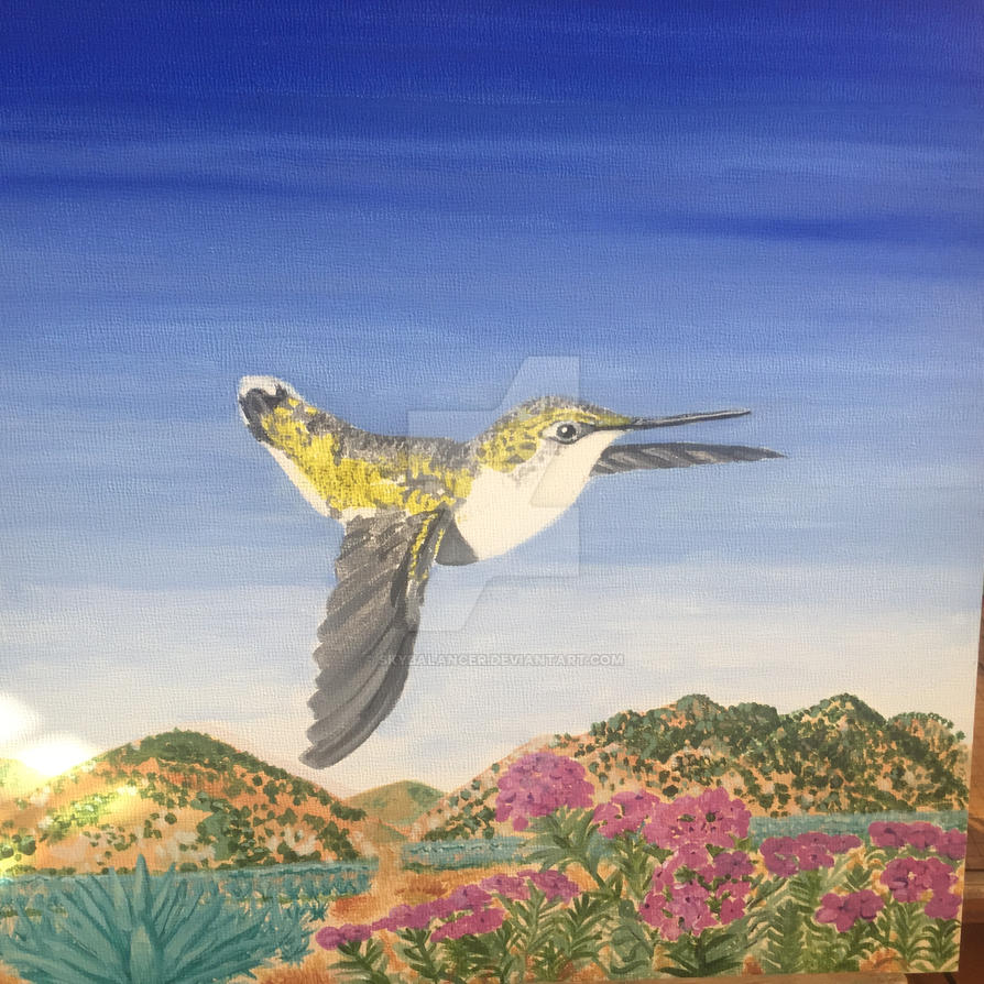 Hummingbird Migration by skybalancer