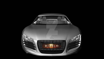 Audi R8 by hundiablo12