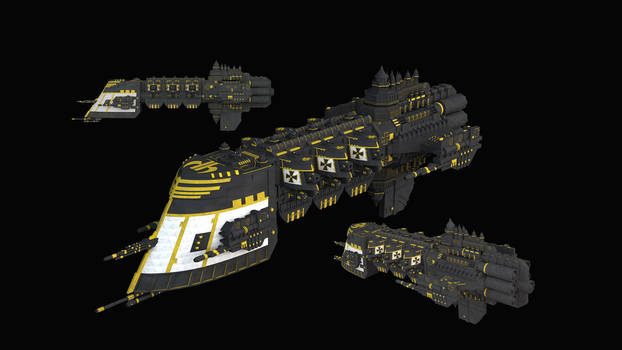 Black Templars Light Cruiser