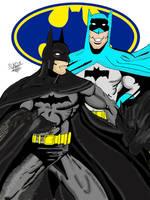 Pre -Post Crisis Batman COLOR by txboi001