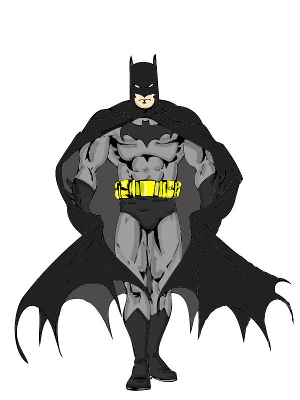 Batman COLOR By Txboi001