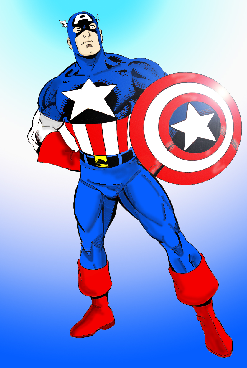Image Result For Captain America Coloring