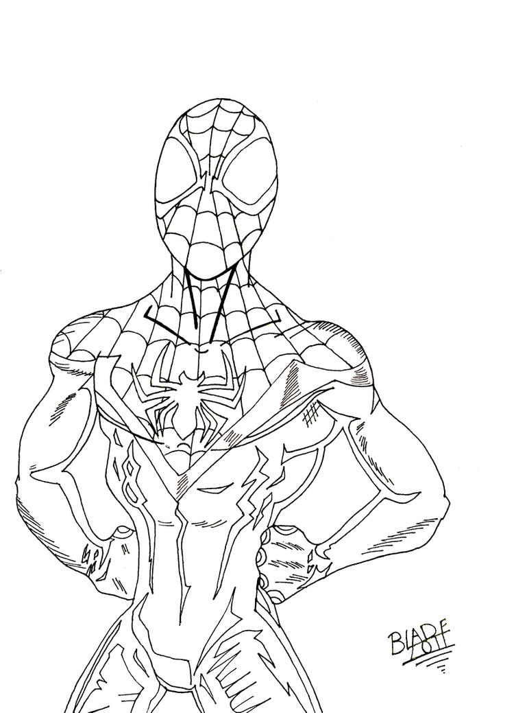 Miles morales by txboi001 on deviantart for Spider man 2099 coloring pages