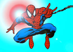 Spider-Man COLOR by txboi001