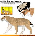 Homotherium serum model