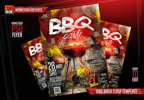 BBQ Bash Flyer Template by AndyDreamm