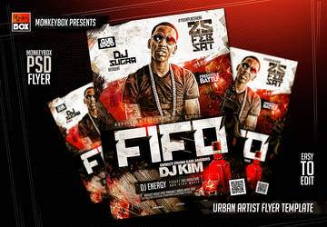Urban Artist Flyer Template by AndyDreamm