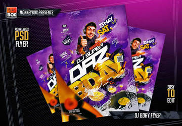Dj Bday Flyer by AndyDreamm