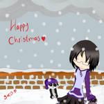 snow flakes fallin' by Erikate