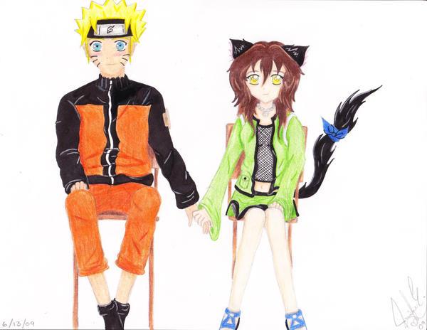 Nozomi and Naruto REQUEST by AmayaKumikai