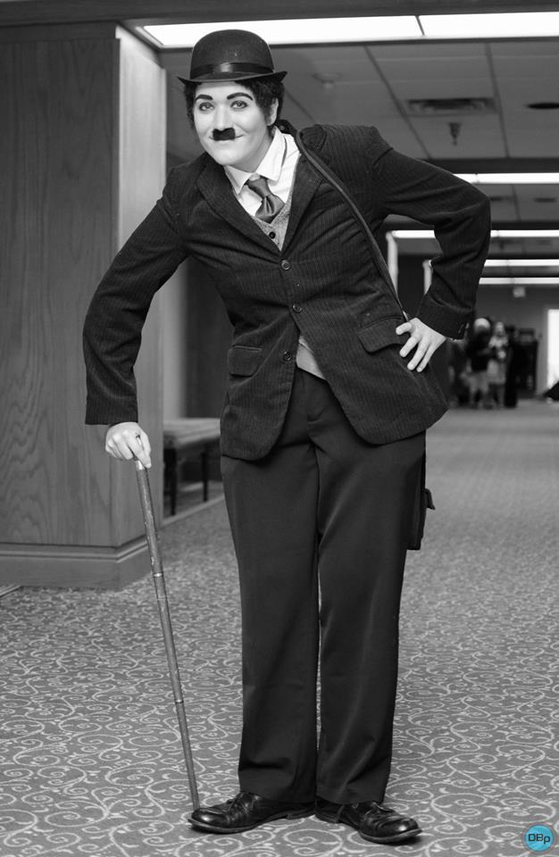 Charlie Chaplin Costume by AmayaKumikai
