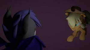 AJ vs Bat Pony
